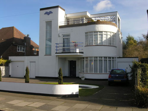 A ramble on art deco and resonance for Art deco house design