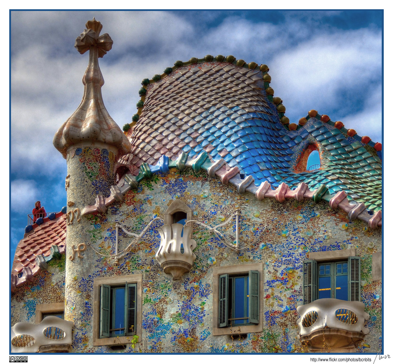 Gaudi for Architecture art